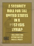 A Security Role for the United States in a Post-ISIS Syria? by Gregory Aftandilian Mr.