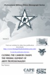 Closing the Candor Chasm: The Missing Element of Army Professionalism by Paul Paolozzi Colonel