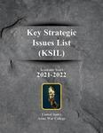 Key Strategic Issues List (KSIL) 2021–2022 by Steve Cunningham